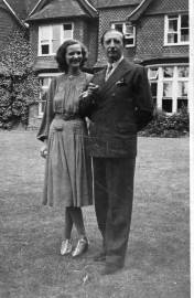 King Zog and Queen Geraldine