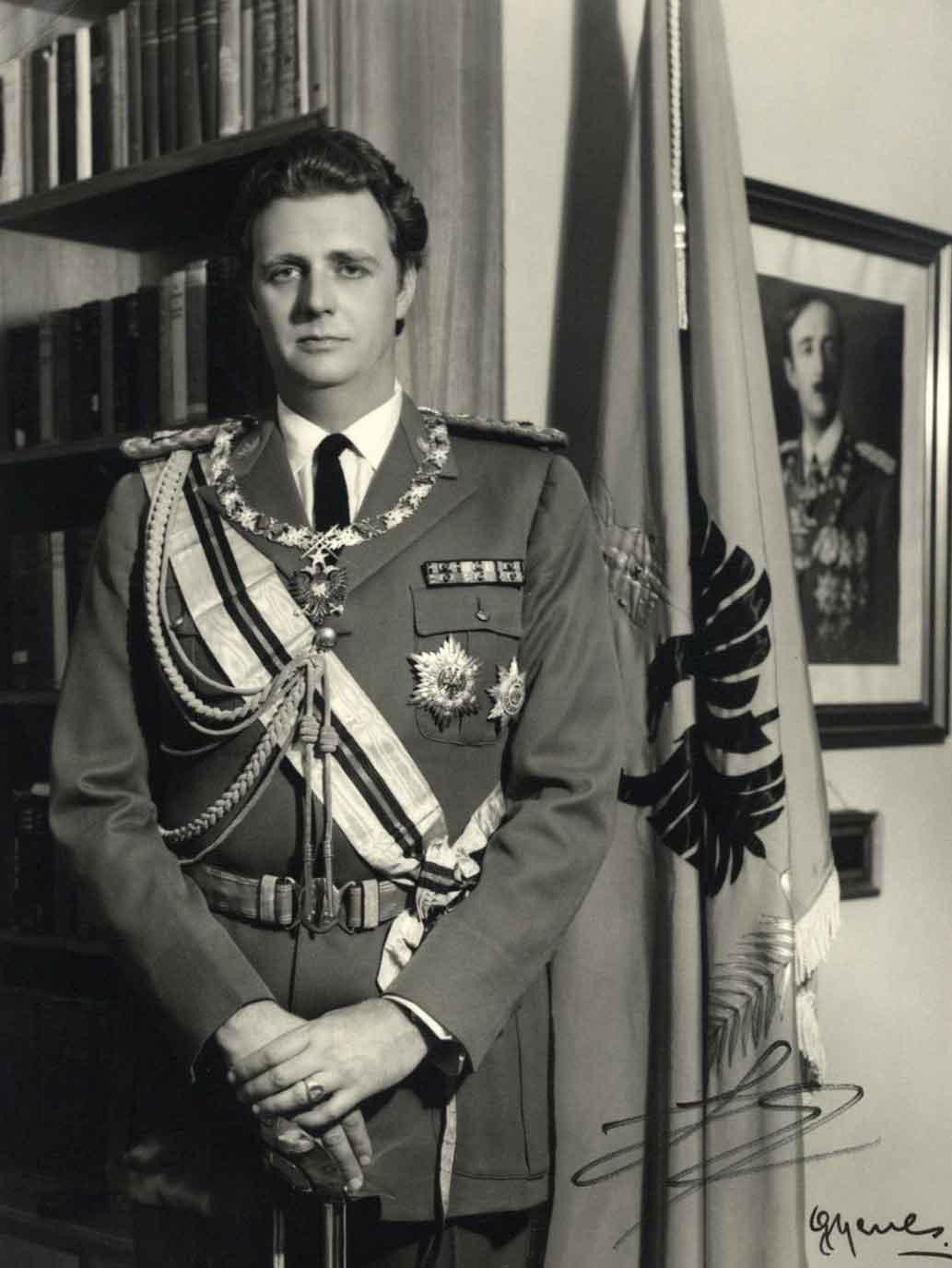 King Leka of the Albanians